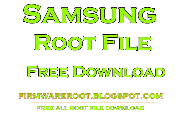 Samsung SM-A500W Root File Free Download