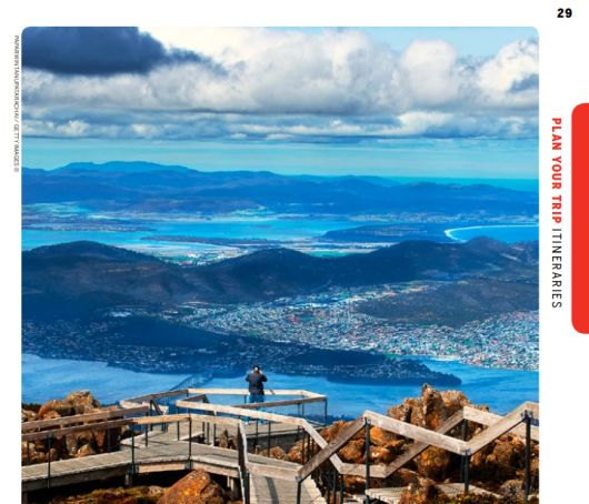 Lonely Planet travel guide Tasmania