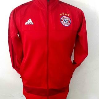 gambar jaket musim depan terbaru liga jerman Jaket Bayern Munchen home warna merah terbaru musim 2015/2016 kualitas grade ori di enkosa sport