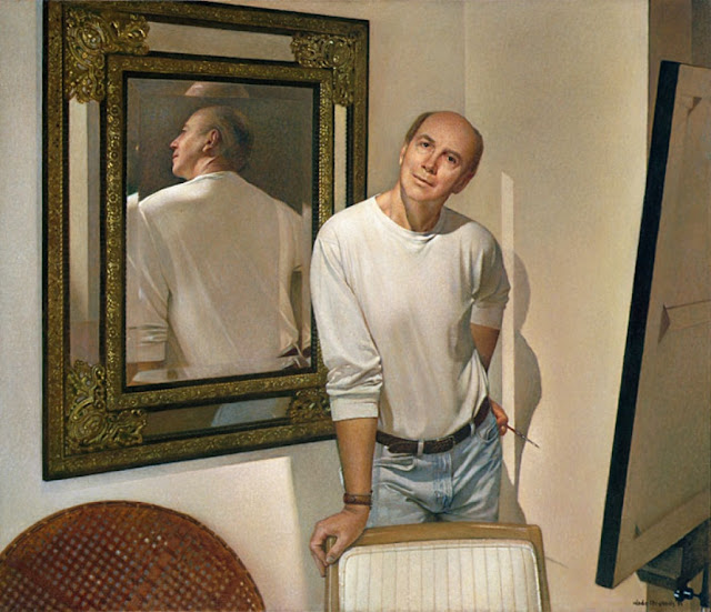 Wade Reynolds, Self Portrait, Portraits of Painters, Fine arts, Portraits of painters blog, Paintings of Wade Reynolds, Painter Wade Reynolds