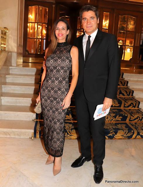 Guillermo Andino y Carolina Prata el Alvear Palace Hotel