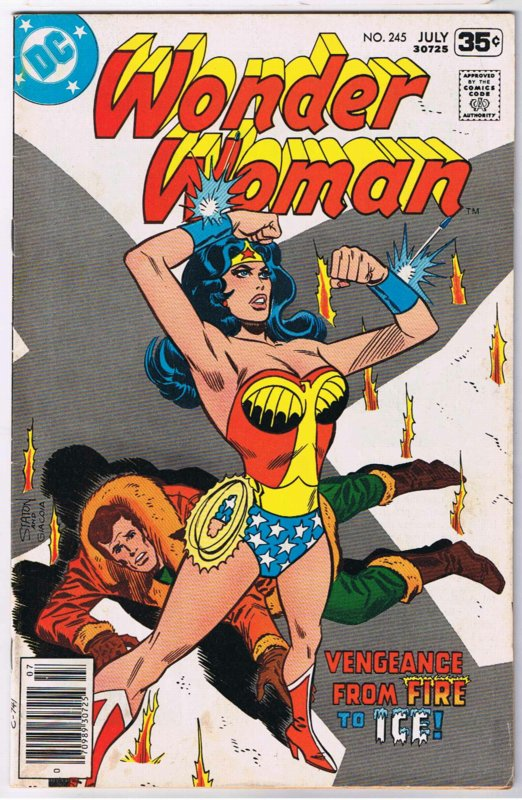 Retrospace Classic Wonder Woman Comic Book Covers-5728