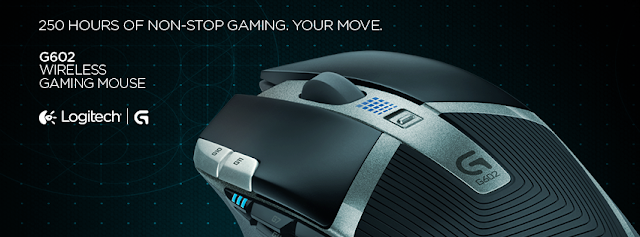 Unboxing & Review: Logitech G602 Wireless Gaming Mouse 1