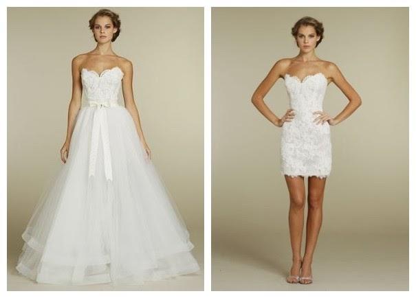 WhiteAzalea Ball Gowns: Trendy 2 in 1 Wedding Dress