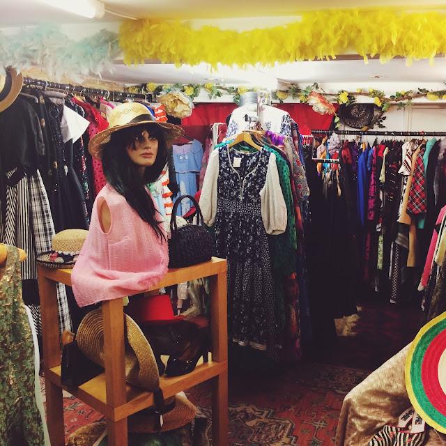 Hastings, FashionFake, UK lifestyle bloggers, vintage shop