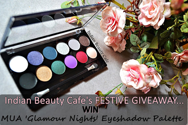 MUA Glamour Nights Eyeshadow Palette Indian Beauty Cafe