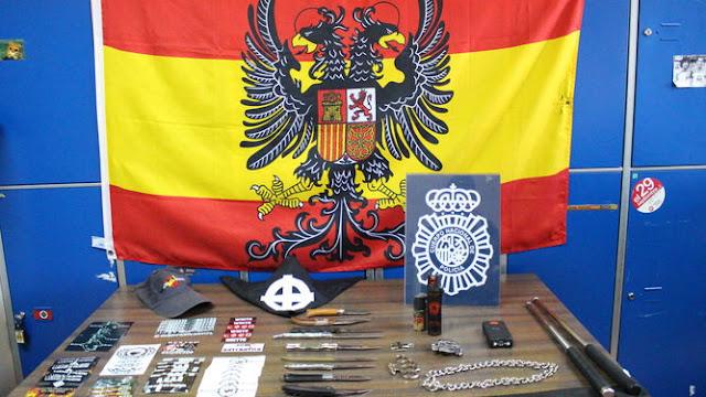 La Policía detiene a 16 neonazis en Madrid