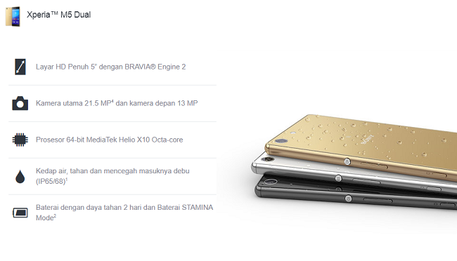 Stock Firmware Sony Xperia M5 Dual