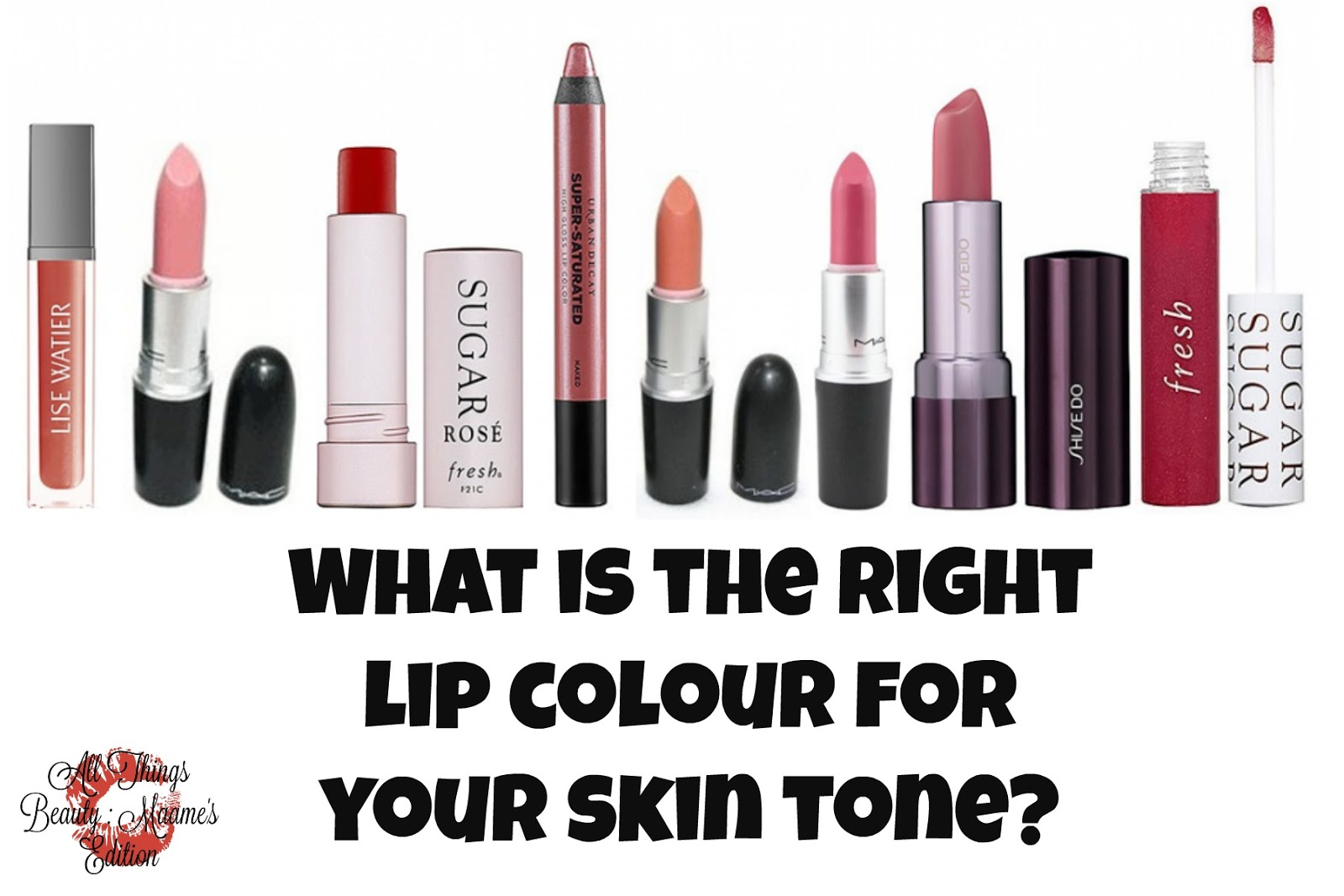 Pink Red Lipstick Color For Beautiful Lips