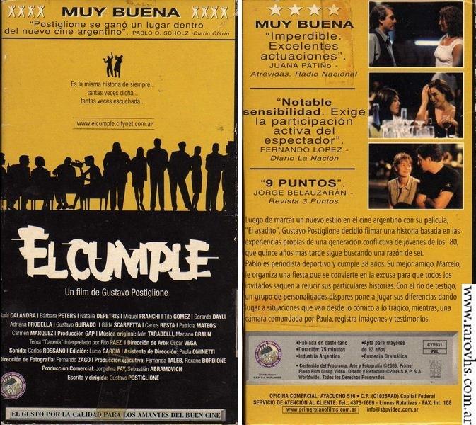 El Cumple (2002) de Gustavo Postiglione