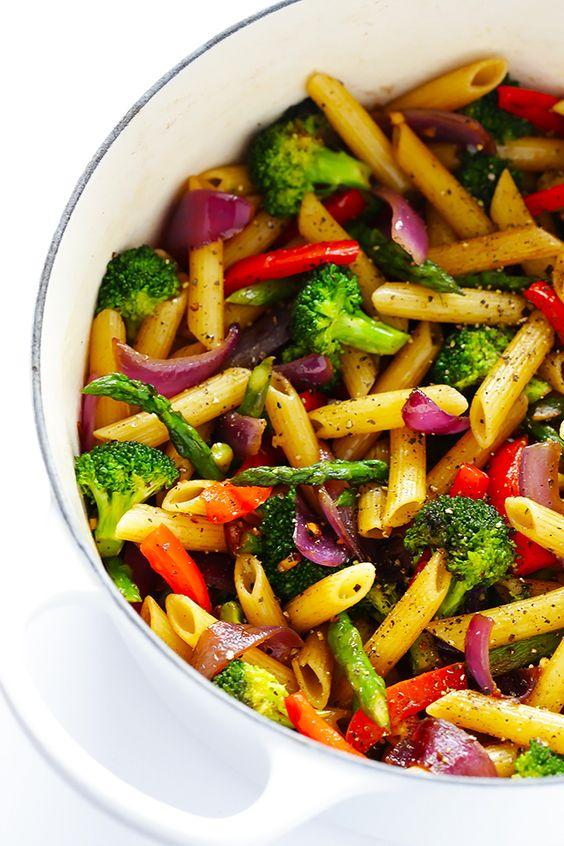 EASY BALSAMIC VEGGIE PASTA #easyrecipes #balsamic #veggie #veganrecipes #pasta #veggiepasta #pastarecipes #easypastarecipes