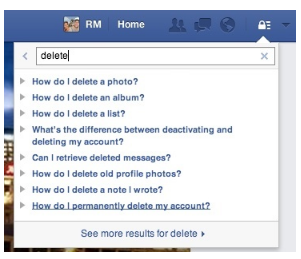 How To Destroy Facebook Account