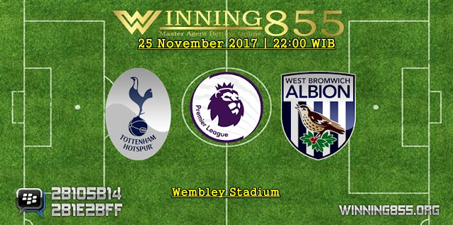 Prediksi Akurat Tottenham vs West Brom 25 November 2017