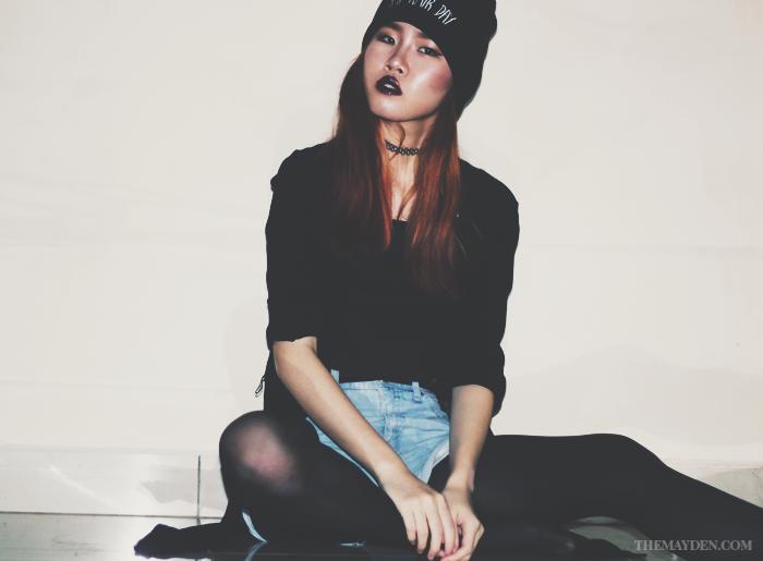 Brunei Blogger, May Cho, The Mayden, Grunge, All Black, Alternative Fashion, Style Blogger, Fashion Blogger, Lifestyle Blogger, Alternative Grunge
