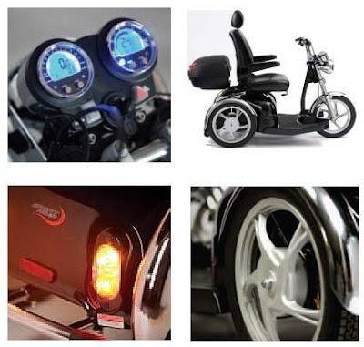 Un modelo deportivo, que en cuanto a diseño y sofisticación tiene poco que envidiar a una motocicleta clasica