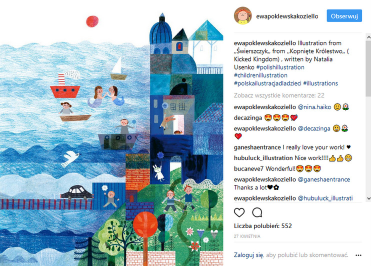https://www.instagram.com/ewapoklewskakoziello/