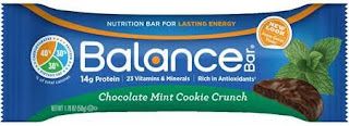 Win Balance Bar Chocolate Mint Cookie Crunch bars on MyWAHMPlan.com