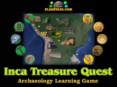 Съкровището на Инките Игра