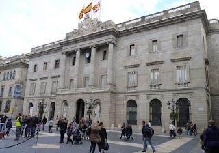 Plaça de Sant Jaume, Ayuntamiento.
