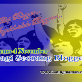 Demo 4 November Bagi Seorang Blogger