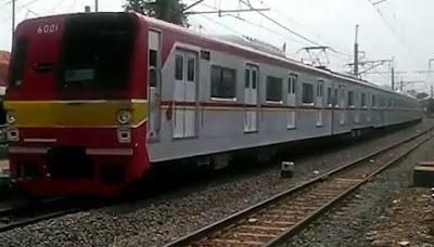 KRL Commuter Cibitung Jakarta