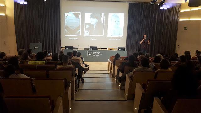 Conferencia de Emilio Ferreiro en la UPF