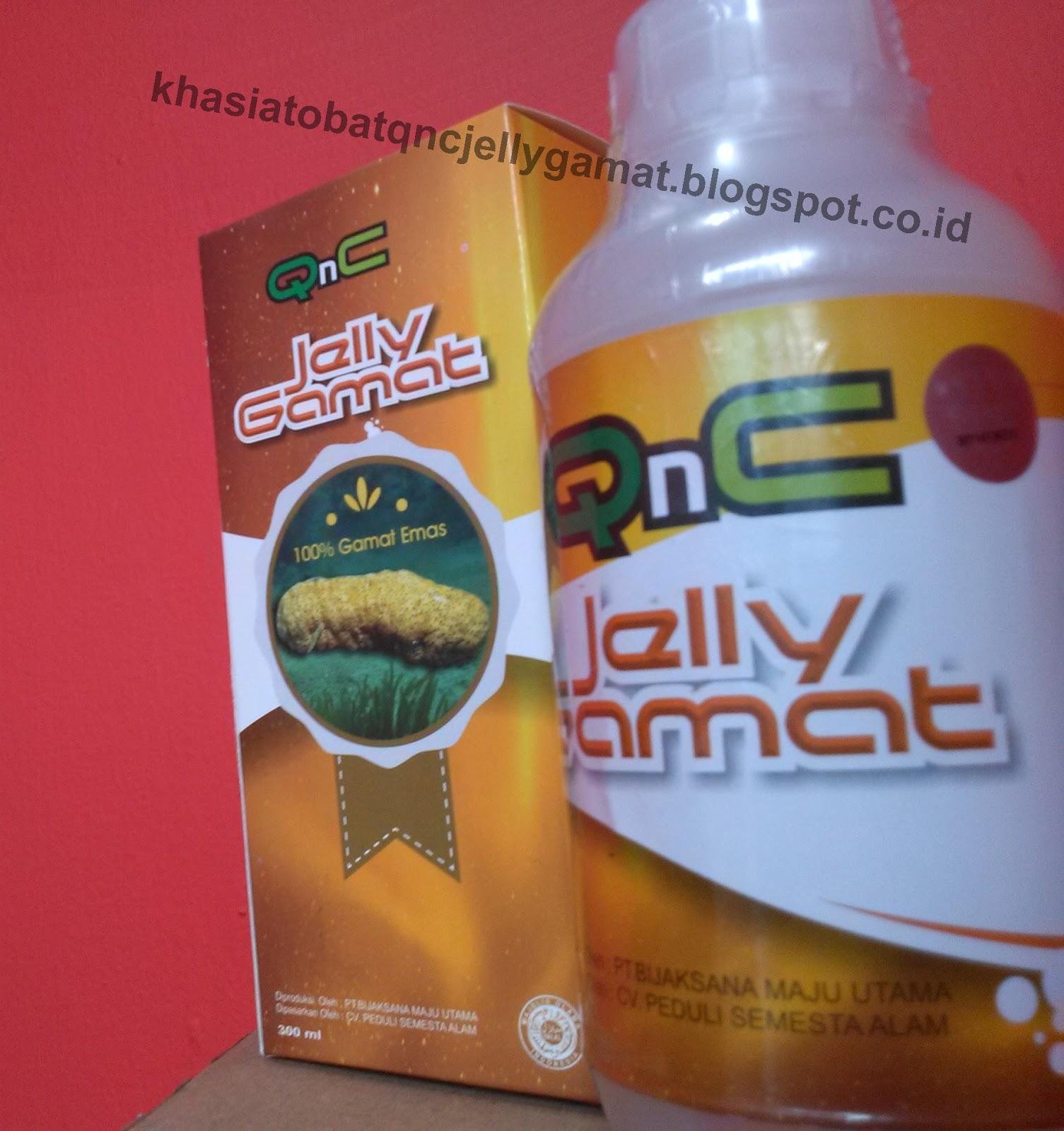 Khasiat Obat QnC Jelly Gamat 100% Asli Herbal