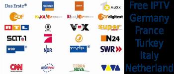 Free IPTV M3u France Turkey Germany Italy Netherland