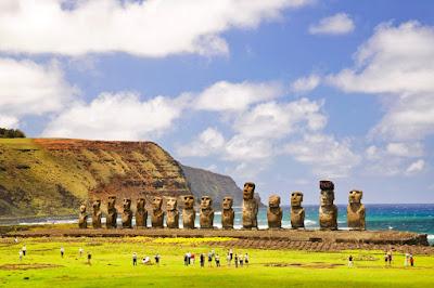 Moai Pulau Paskah