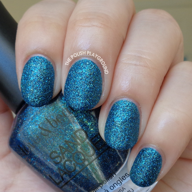 Love & Beauty Sand Lacquer Blue Jewel