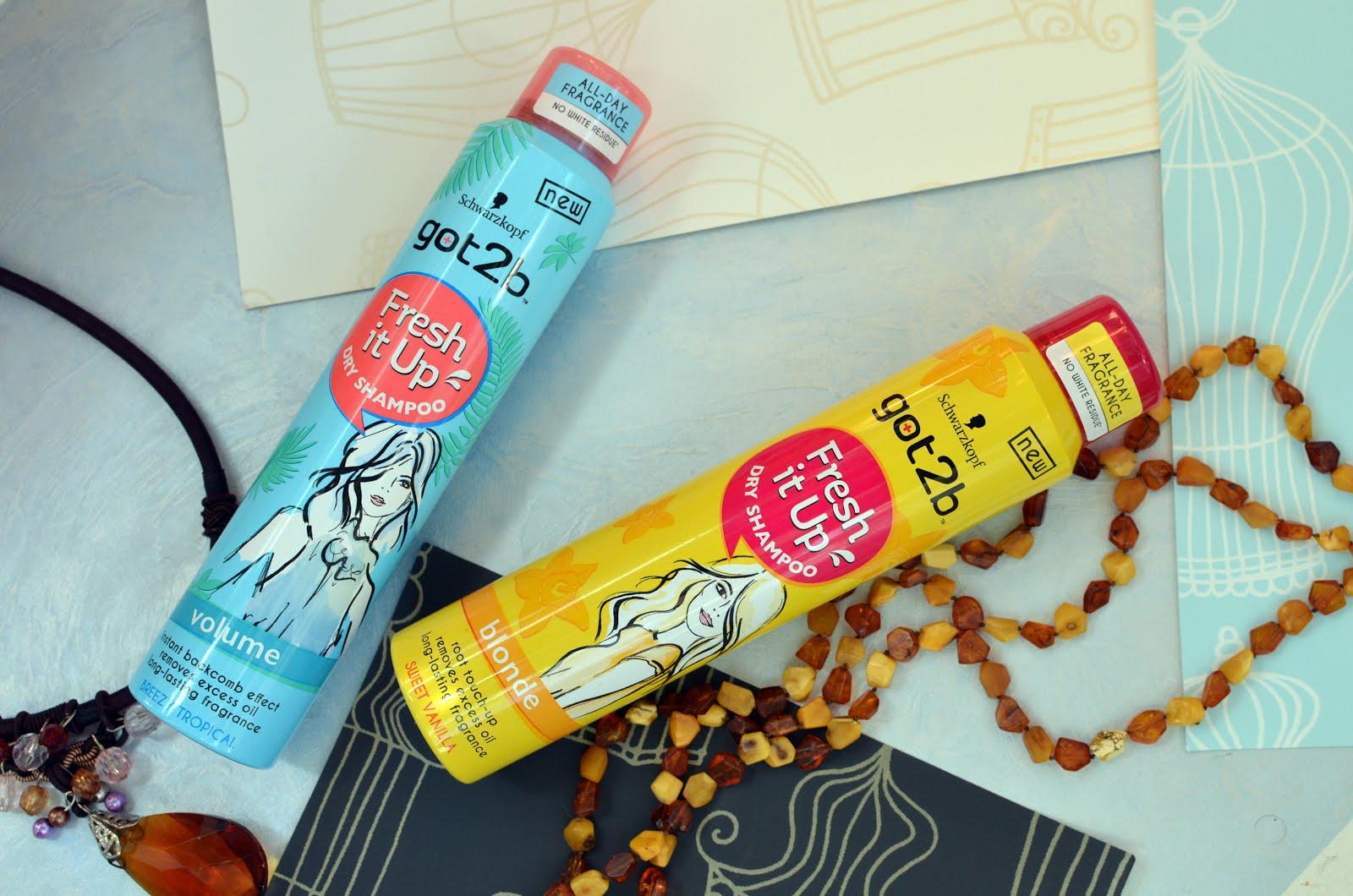 """Got2b Fresh it Up! Dry Shampoo Volume & Dry Shampoo Blonde\Сухой шампунь """"Объем. Тропический бриз"""" и Сухой шампунь """"Сладкая ваниль"""" для блондинок"""