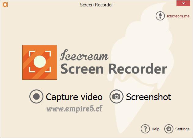 تحميل برنامج Icecream Screen Recorder لتصوير الشاشة صورة وصوت كامل ومجانى