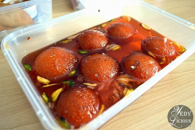 Gulab Jamun at Green Dot Vegetarian Catering and Food Delivery Service Manila