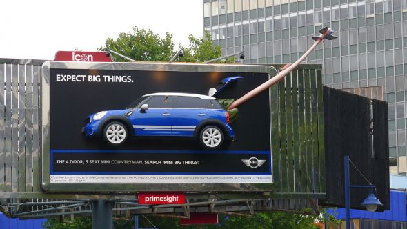 20 Clever And Creative Mini Cooper Advertisements