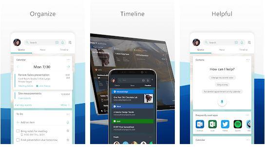 Microsoft Launcher - Δώστε νέο αέρα στο κινητό σας με άρωμα Microsoft