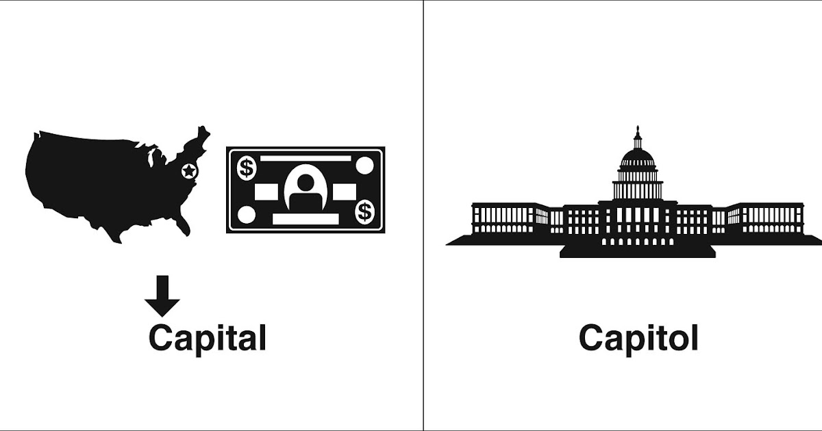 Homophones, Weakly: Capital & Capitol