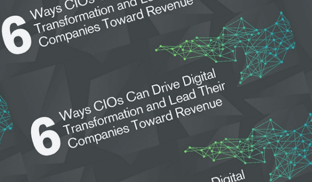 6 Ways CIOs Can Drive Digital Transformation and Lead Their Companies Toward Revenue