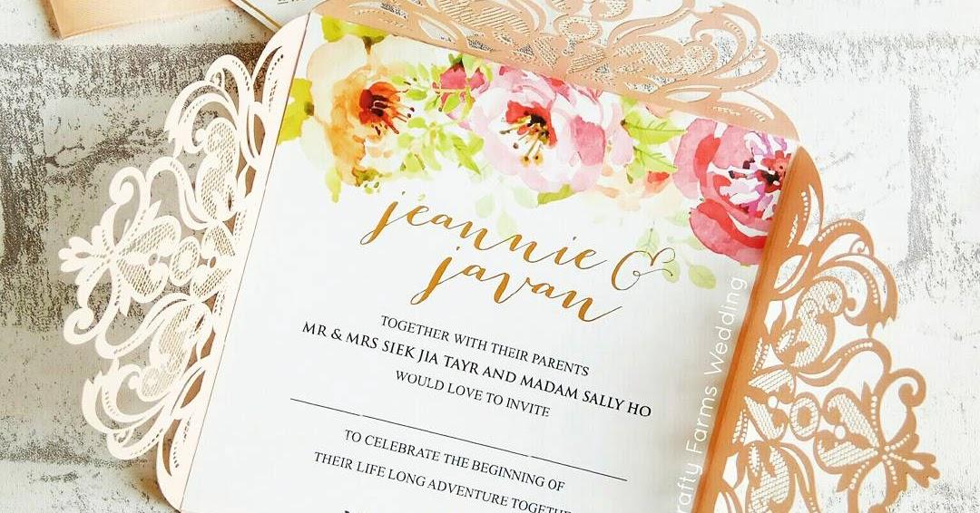 laser cut wedding cards malaysia - 28 images - wedding card malaysia ...