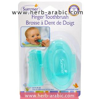 فرشة سيليكون للمولود تنظيف الفم