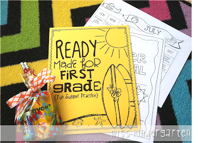 http://www.teacherspayteachers.com/Product/Ready-Made-for-First-Grade-Fun-Summer-Practice-688117