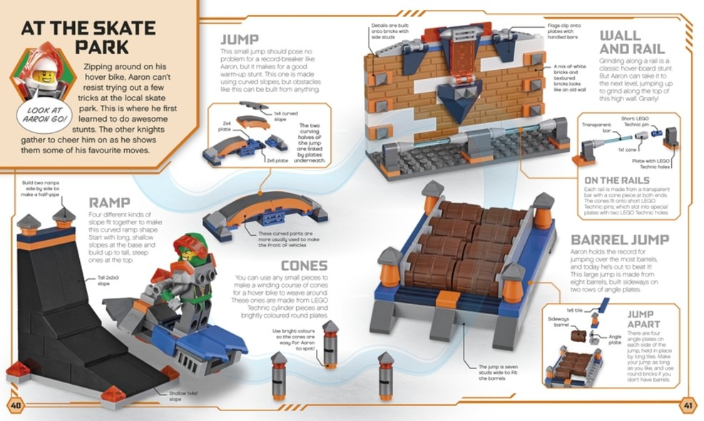 REVIEW: LEGO Nexo Knights Build Your Own Adventure Book | The Test Pit