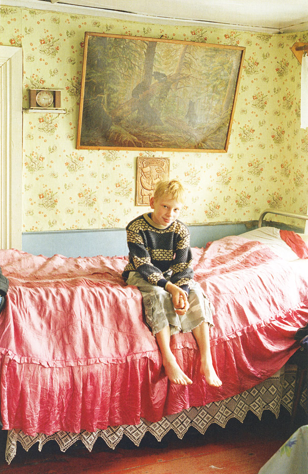 Russian Folk Houses by Tim Walker for Vogue