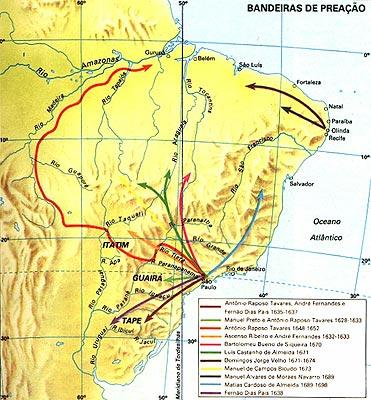 Entradas e Bandeiras do Brasil Colonial