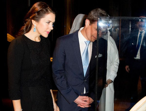 Crown Princess Mary and Crown Prince Frederik of Denmark visited the Doha Museum of Islamic Arts which opened in 2008 in Qatar