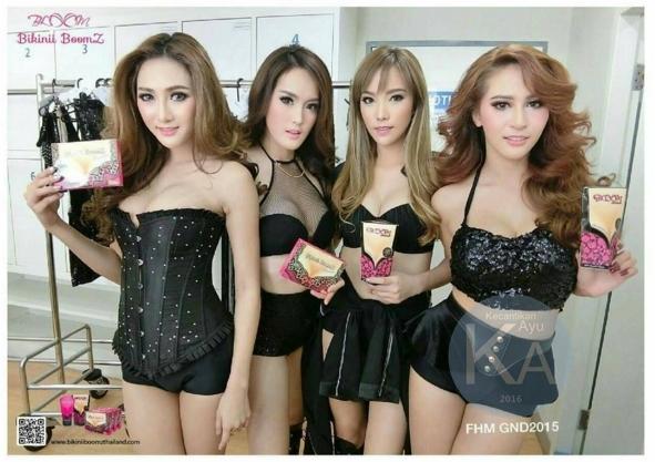 Bikini Boomz Pembesar Payudara Paling Terkenal di Thailand