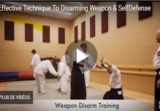 Fastest weapon disarming techniques-Self sefense classes