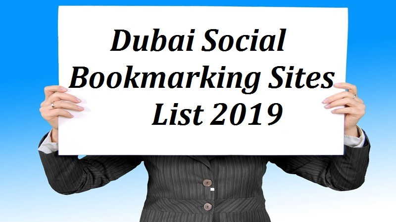 Social Bookmarking Sites in Dubai - SEO Sites Online