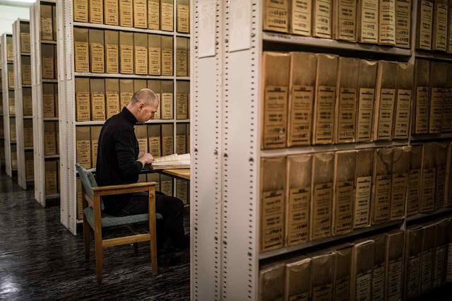 Quartel Geral da KGB contém fichas, falsas ou verdadeiras de 4,141 cidadãos letões