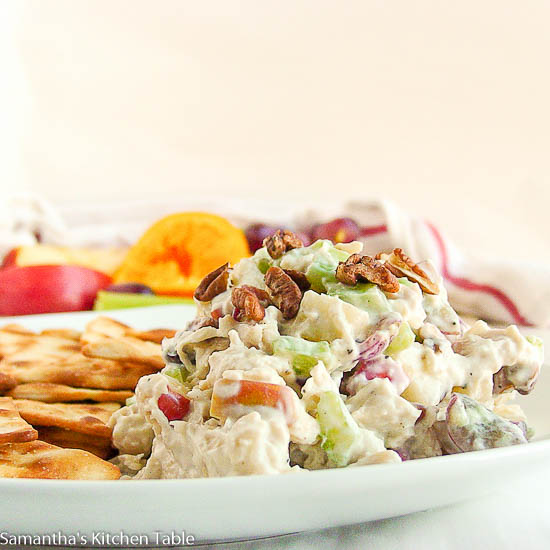 Lightened-Up Chicken Waldorf Salad
