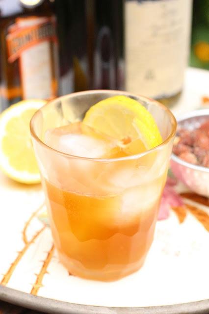 recette cocktail citron et cognac